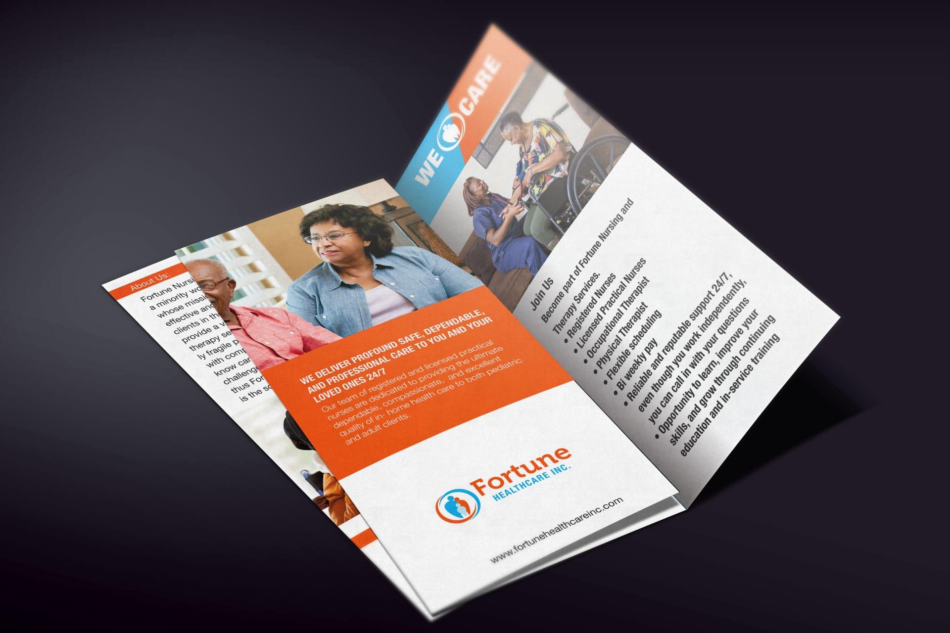 Fortune Healthcare Brochure Design
