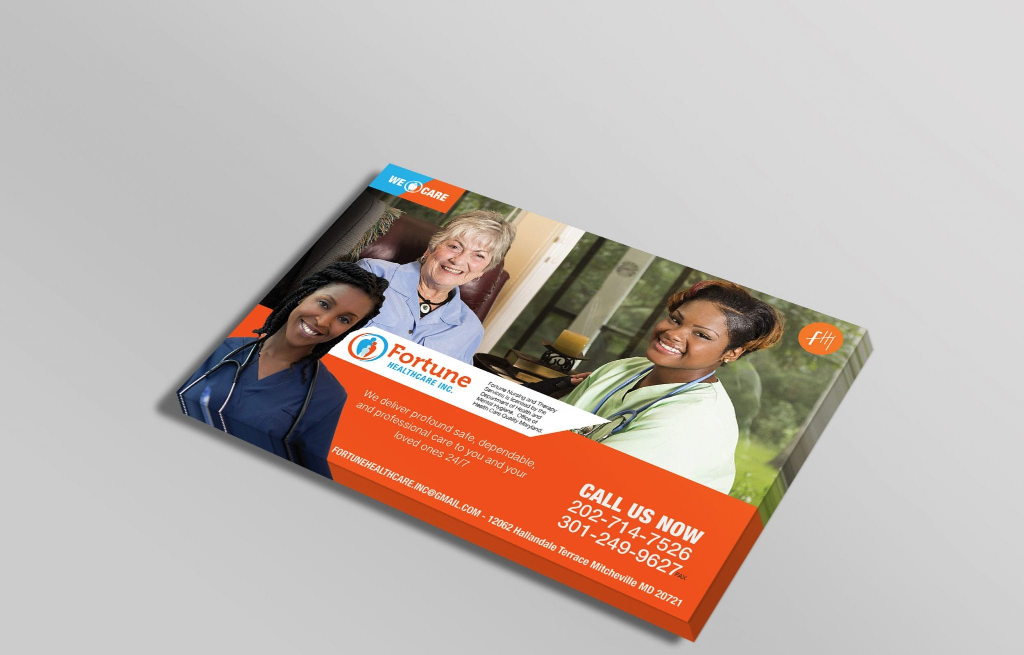 Fortune Healthcare Flyer Design
