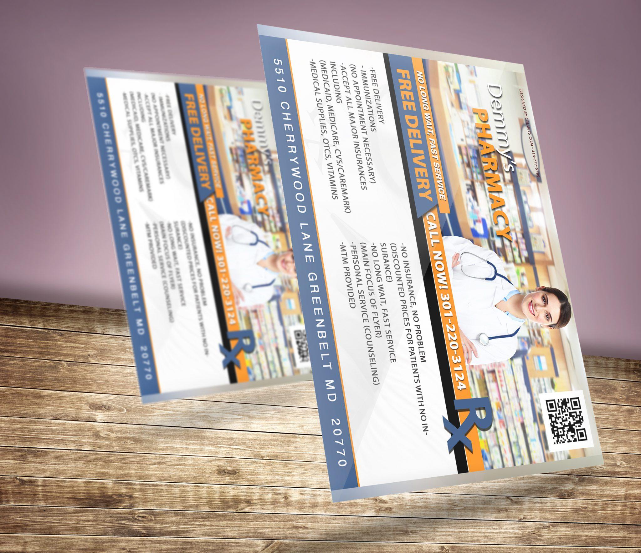 Flyer Design for Pharmacy
