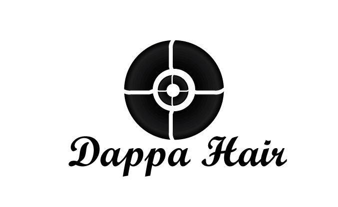 Dappa Hair Logo Design