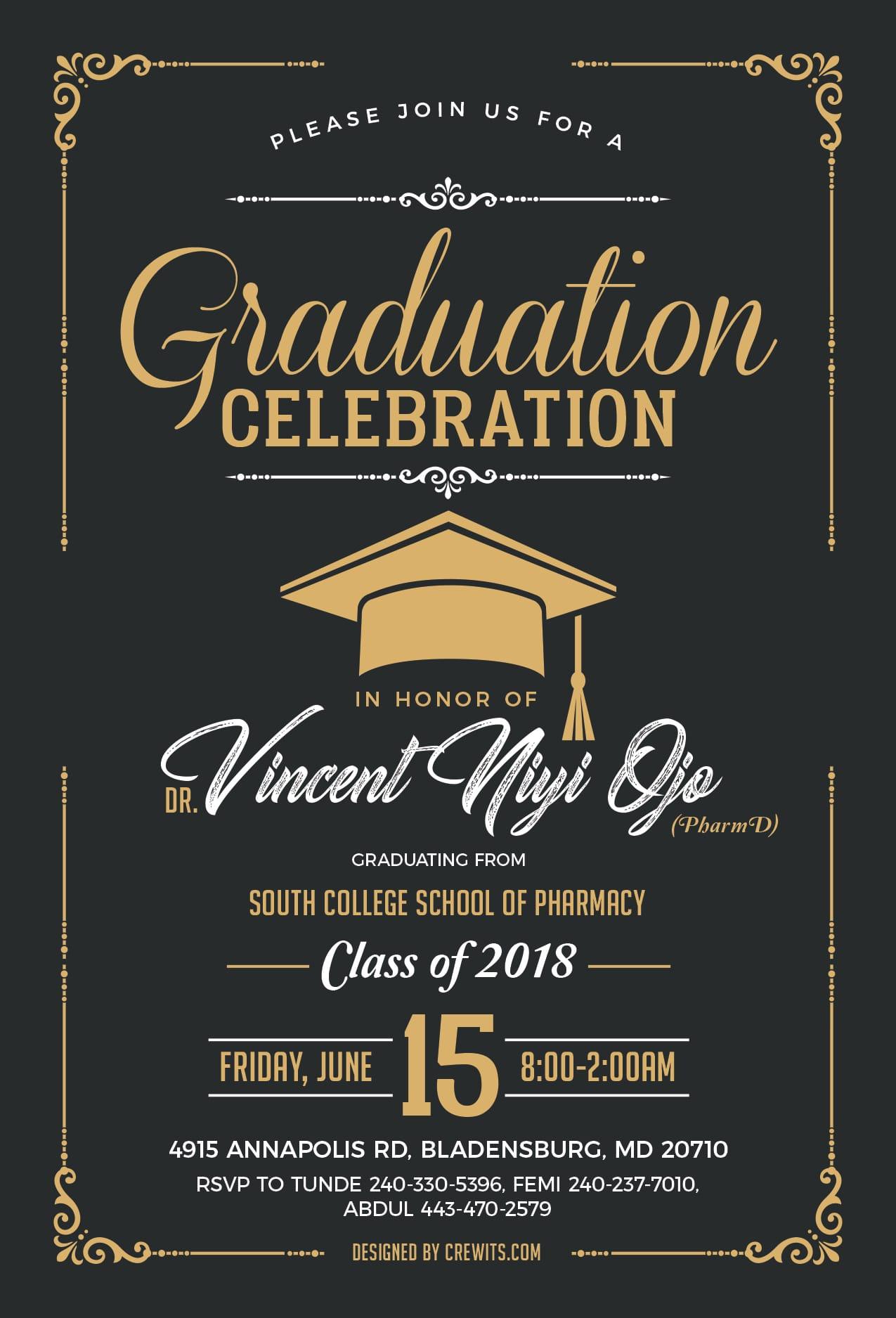 Graduation Party Copy